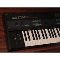 Teclado Dx7 Sintetizador Classico Da Yamaha Excelente Estado