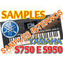25 Samples Interno Yamaha Pacote S01 Para Yamaha S750 E S950