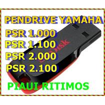 Pendrive C/ Ritmos Yamaha Emulado Psr1.000,1.100,2.000,2.100
