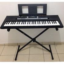 Teclado Musical Arranjador Yamaha Psr E243 Iniciante 61 Keys
