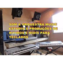 Ritimos Yamaha Gospel Psr Psrs Psre Dgx + Midis Frete Grátis