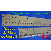 Novas Réguas Fibra De Vidro P/ Teclado Yamaha Mox-6 Novas