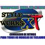 Conversor De Ritmos Style Works Xt V3.76 Ultima Versão