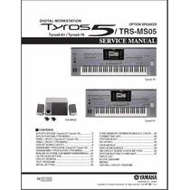 Manual De Serviço Do Teclado Yamaha Tyros 5