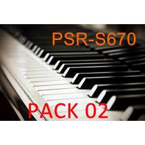 Pack 02 - Samples De Pianos Para Yamaha Psr-s670