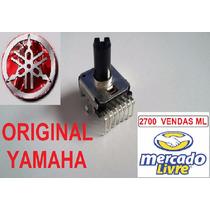 Potenciômetro Teclado Yamaha Psr-s710 Volume Master Rotativo