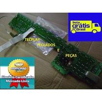 Placa Dos Botões Psr520 / Psr620 Das Microchaves E C/bender