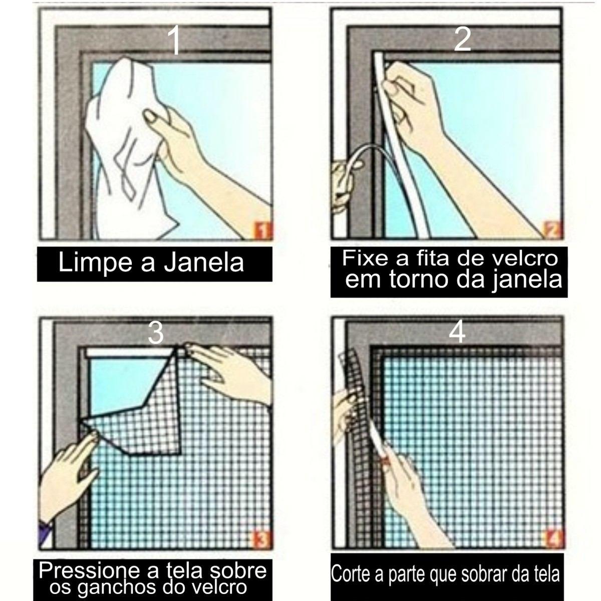 Tela De Janela Protetora Contra Insetos E Mosquito Da Dengue R$ 26  #507B50 1200 1200