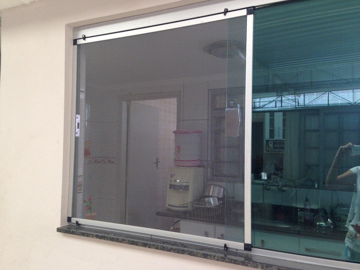 #376F94 Tela Mosquiteira Fixação Com Imã (kit De Alumínio) R$ 39 90 no  1472 Tela Mosquiteiro Para Janela De Aluminio