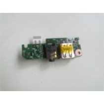 Placa Usb Audio Hp Mini 110 6050a2296801 + Flat