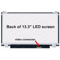 Tela Led Slim 13.3 Notebook Semp Toshiba As-1301 As1301 100%