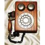 Telefone Antigo Madeira Sino Western Electric At&t - Lindo !