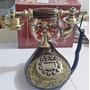Telefone Antigo Dourado Retro Ano 50/60 Frete Gratis
