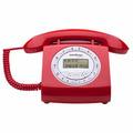 Aparelho Telefone Fixo Retro Com Fio Viva Voz Tc8312