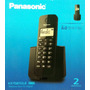 Telefone Sem Fio Panasonic C/ Ramal, Bina, Dect 6.0 Digital