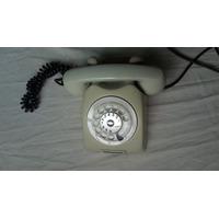 Antigo Telefone A Disco Ericsson Funcionando Cor Original