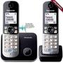 Telefone Sem Fio Panasonic Kx-tg6812 Base + 1 Ramal