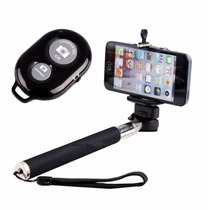 Controle Bluetooth+ Monopod P/ Celular Iphone Android Selfie