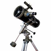Telescópio Newtoniano Equatorial 1400x150mm Greika 1400150eq