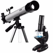 Kit Infantil Telescópio E Microscópio Vivitar Vivtelmic20+nf