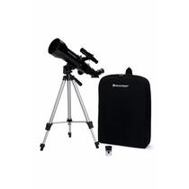 Telescópio Refrator Celestron 21035 70mm Viagem C/ Mochila