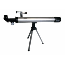 Kit Telescópio Refrator + Microscópio Vivitar Vivtelmic30