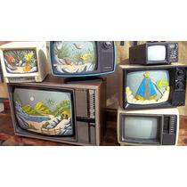 Tv Antiga - Linda Peça Para Decoração