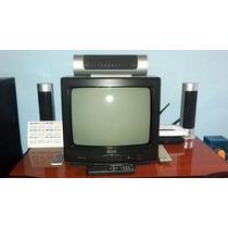 Tv 14 Polegadas Philco Colorida Com Controle