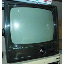 Televisão Antiga Panda 10 Pol No Estado Promoção Reliquiaja