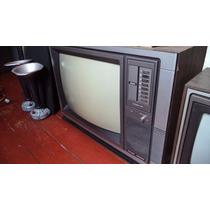 Tv/ Televisor/televisão Antiga Philco Hitachi Colorida