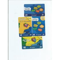 Cartões Telefonicos - Tarjinha De Minas - (6 Cartões) - 4.00