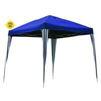 Tenda Gazebo Dobrável Alumínio 3x3m Articulada Sanfonad Azul