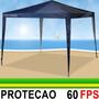 Tenda Gazebo 3x3m Bel Fix Camping Praia + Bolsa Transporte