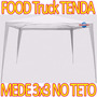 Tenda Gazebo Barraca De Praia Teto 3x3mt A Maior Food Truck