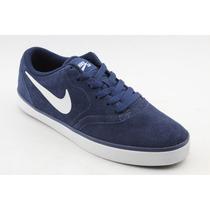 Tênis Nike Sb 2016 Masculino Azul Baixo Low Skatista 583957