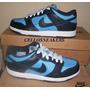 Tenis Nike 39 Dunk Low Cl Azul Marinho Couro Frete Gratis