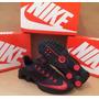 Nike Shox R4 Super Fly 2015 Preto/vermelho 100% Original