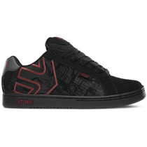 Tenis Etnies Metal Mulisha Fader (black Red)