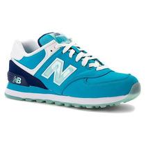 Tênis New Balance Wl 574 Glacial Preto Feminino - Way Tenis