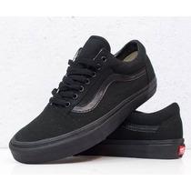 Tênis Vans Old Skool All Black Original Compra 100% Garantid