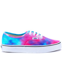 Tênis Vans Authentic Tie Dye Pink Blue Vn-0zukfq0