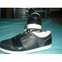 Tenis Creative Recreation Cesario Lo Preto Vinil E Snake
