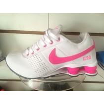 Tênis Nike Shox Junior Feminino Original Promoção Imperdível