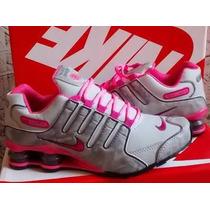 Tênis Nike Shox Feminino 4 Molas Lindos Promoçâo