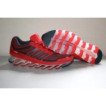 Tenis Adidas Springblade Masculino Vermelho - Original