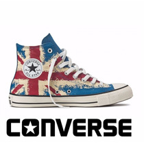 Tênis Converse All-star Botinha Reino Unido Uk Rock