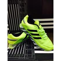 Novo Adidas Springblade Preta E Prata 100% Original