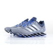 Adidas Springblade Drive Prata E Azul Bb Original-no Brasil