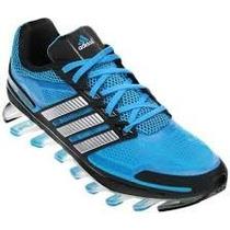 Adidas Springblade Azul Bebe Com Cinza 100% Original P.entre