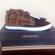 All Star Converse Jack Purcell Camuflado Cano Médio